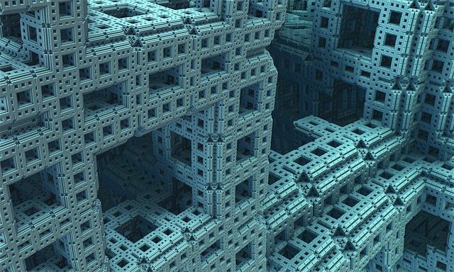 Metal fractales esponja