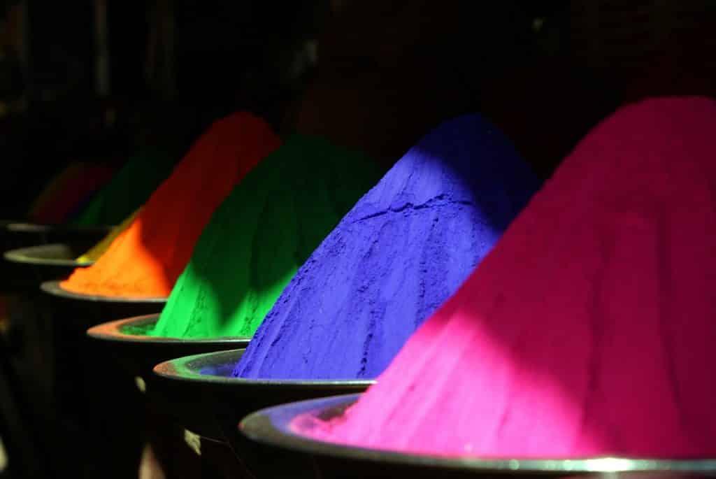 Colores ventajas positivo
