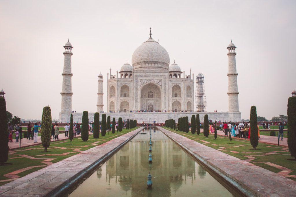 Taj mahal India Origen de los Minicréditos