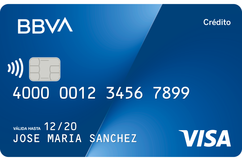 BBVA - Tarjeta de credito