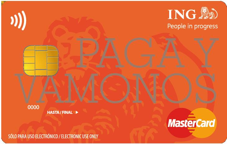 ING tarjeta de credito