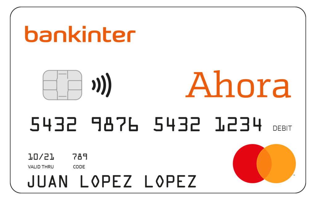 Bankinter tarjeta de credito