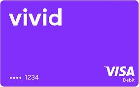 Vivid debit card